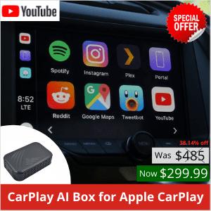 Apple CarPlay AI BOX Boîte TV pour voiture