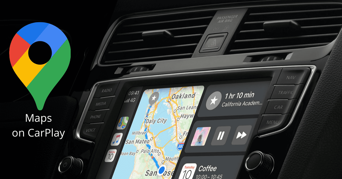 Apple CarPlay compatible Maps -CarPlay Hacks