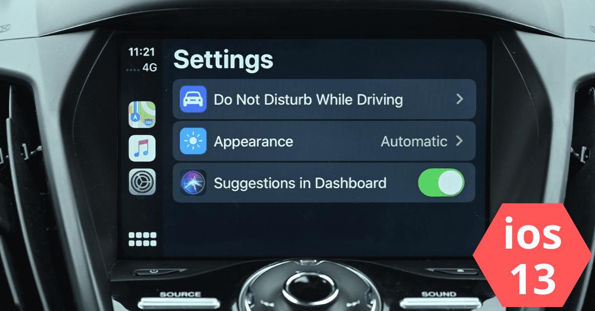 CarPlay iOS 13 - Toutes les fonctionnalités, problèmes abordés