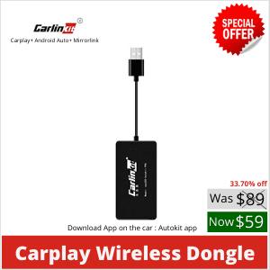 CarPlay sans fil pour Android (sans micro)