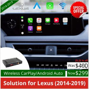 CarlinKit Wireless Apple CarPlay Dongle pour Android