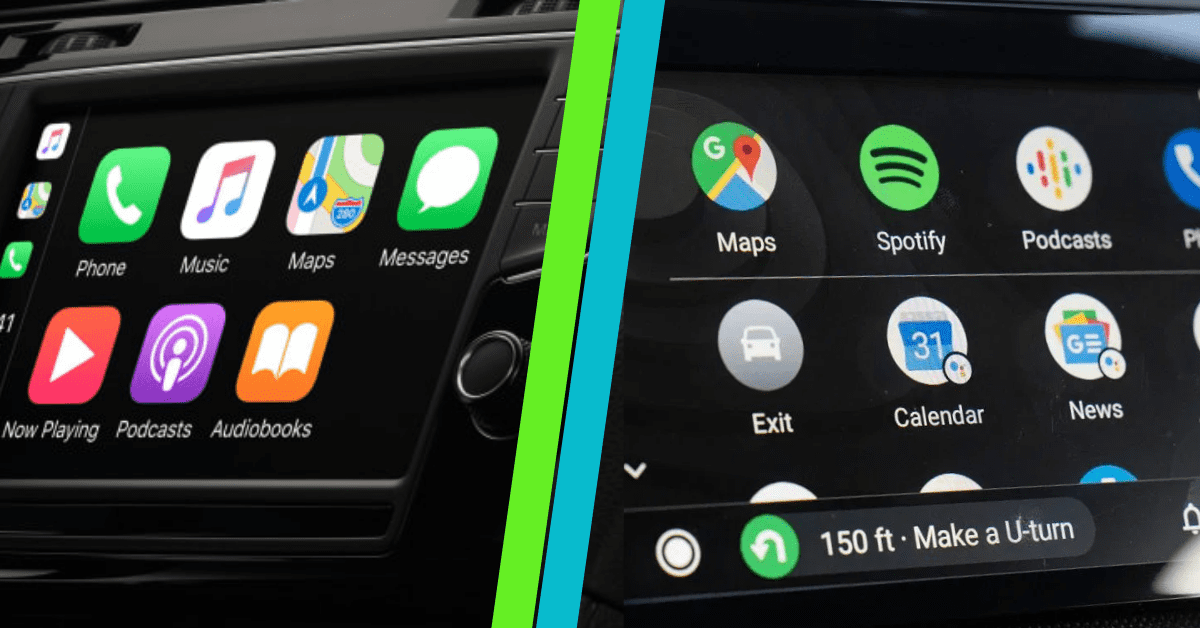 Comparaison CarPlay Vs Android Auto- Hacks CarPlay