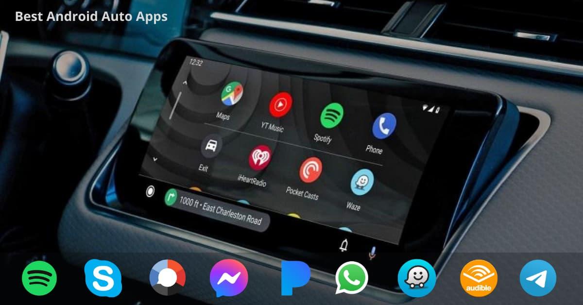 Télécharger les meilleures applications Android Auto
