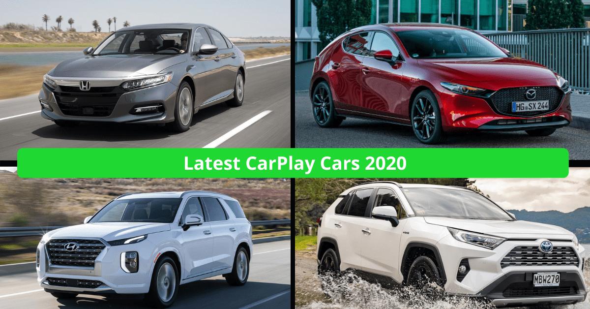 Voitures CarPlay 2021 - Les dernières voitures incluses